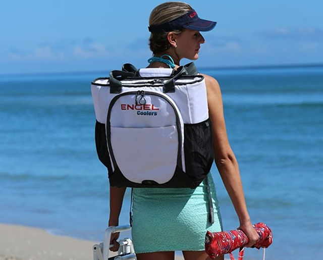 Engel Backpack Cooler Great For The Beach