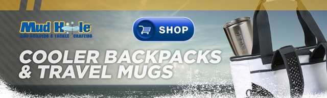 Shop Cooler Backpacks & Travel Mugs at Mud Hole Custom Tackle