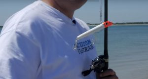 Use The GOT-CHA Saltwater Plug When Fishing In The Wind