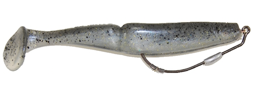 The Gambler Big EZ Paddle Tail Swimbait with Screw Lock Hook
